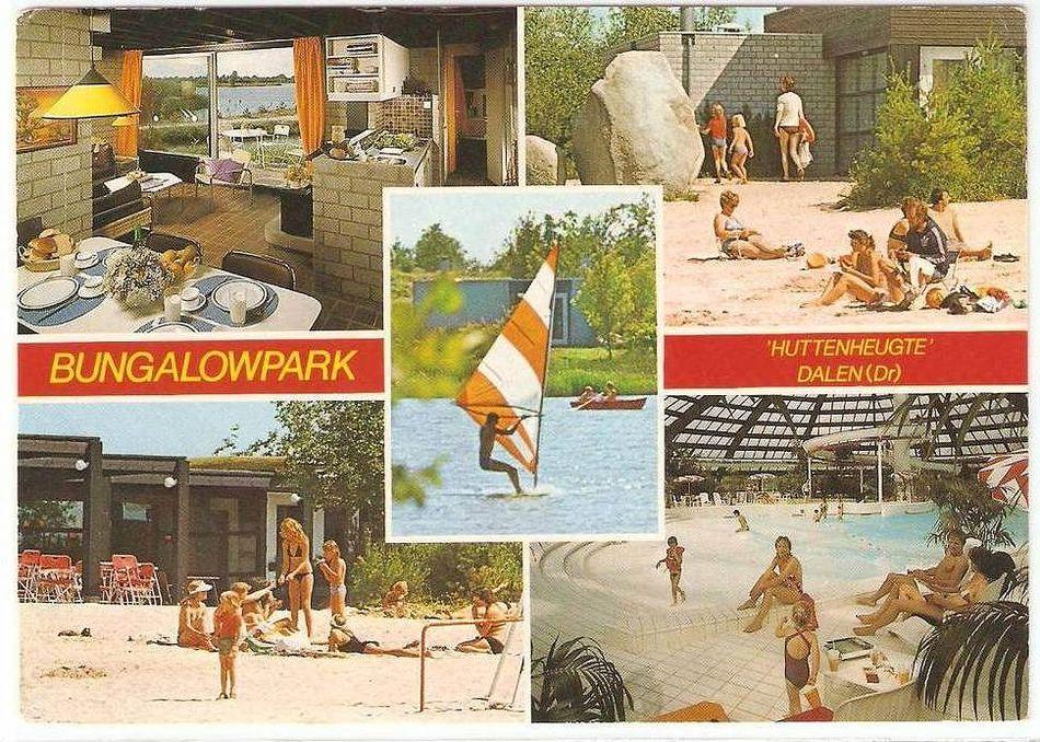 Eine alte Postkarte aus Center Parcs De Huttenheugte