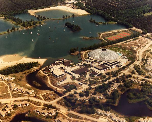 Luftbild von Center Parcs De Kempervennen 1983