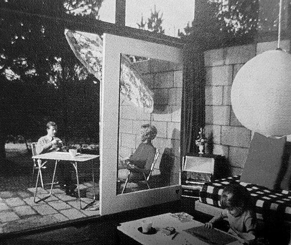 Die ersten Center Parcs-Ferienhäuser in De Lommerbergen 1968