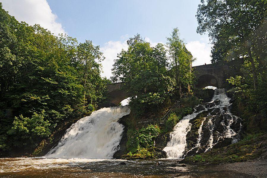Die Wasserfälle von Coo