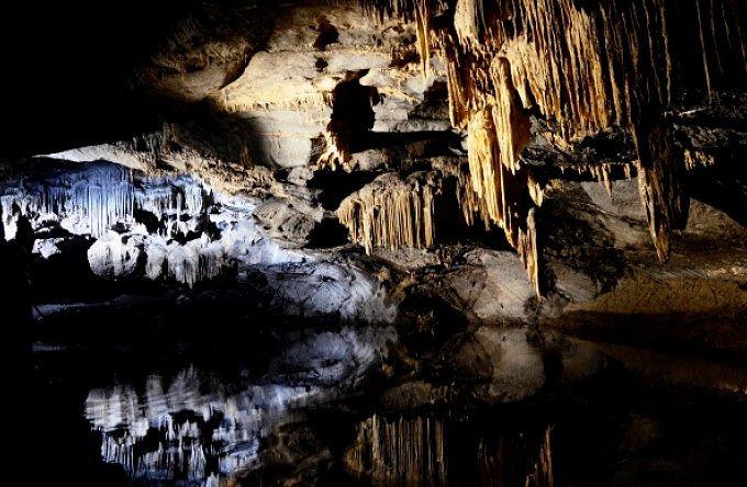 Die Höhlen von Han-sur-Lesse