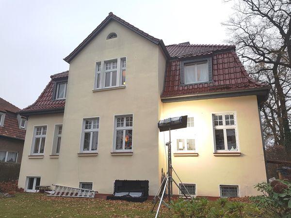 In diesem Haus in Falkensee fand der Videodreh statt.