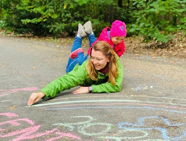 Fan des Monats Oktober 2020: Tanja Lange mit Töchterchen Hanna
