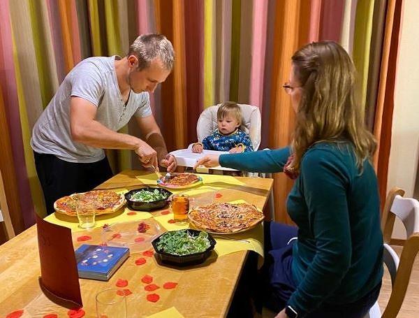 Heimelig und lecker: Geliefertes Essen im Ferienhaus