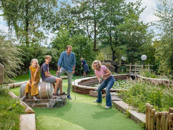 Im Fokus: Minigolf bei Center Parcs