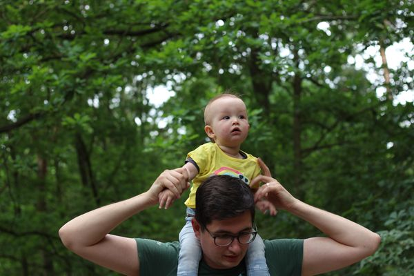 baby in nature