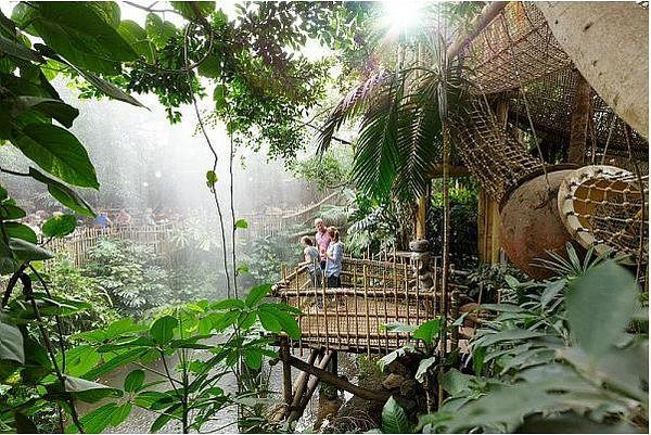 Jungle Dome in Center Parcs Het Heijderbos