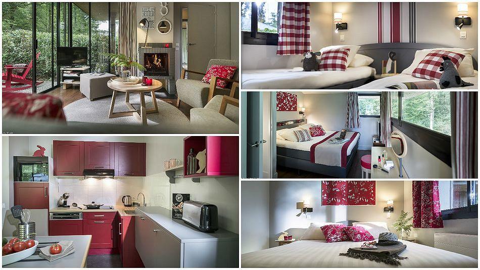 Die neuen Pagode-VIP-Ferienhäuser in Les Bois-Francs