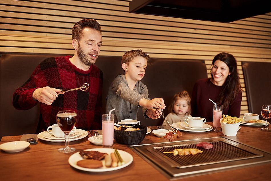 Neues Grill-Restaurant in Center Parcs Parc Sandur