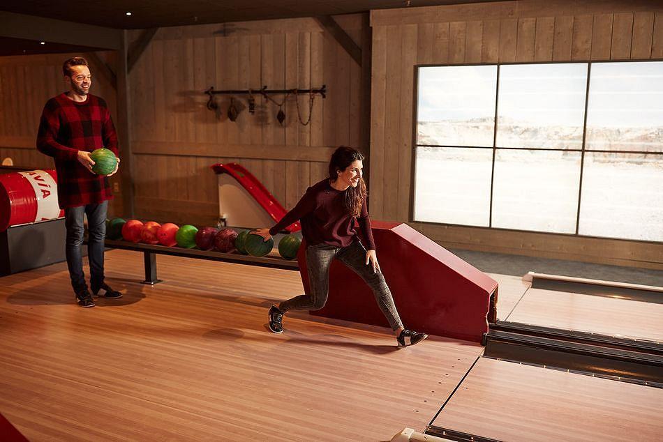Neue Bowling-Bahn in Center Parcs Parc Sandur
