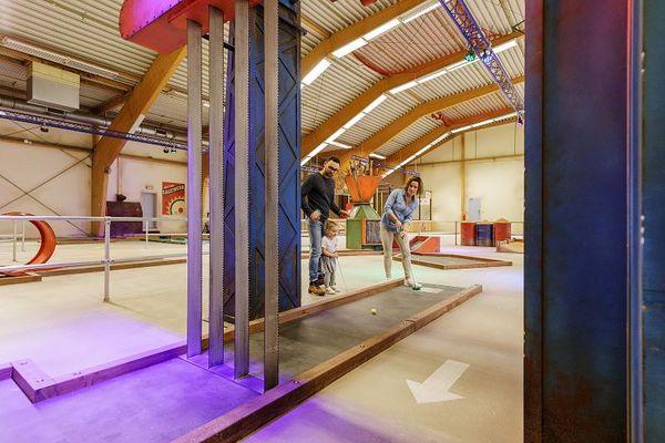 Die toll thematisierte neue Minigolfanlage in der neuen Action Factory