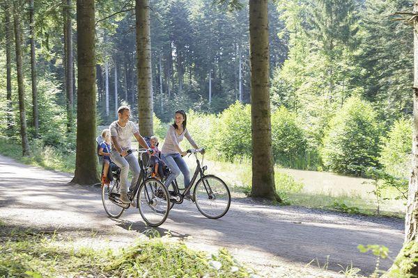 Die Gegend rund um Park Allgäu ist durchzogen von einem Netz attraktiver Rad- und Wanderwege