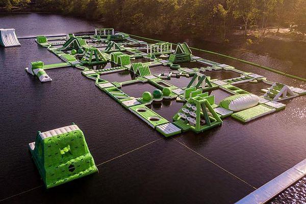 Wasserpark De Vossemeren Luftbild