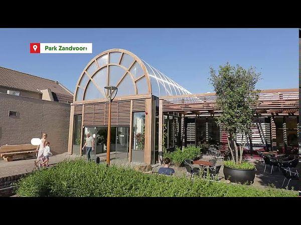 Erneuerter Market Dome in Park Zandvoort