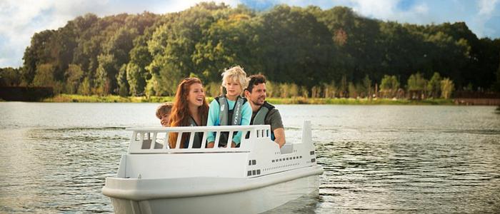mini bateaux center parcs