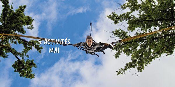 Top 5 des activités de mai