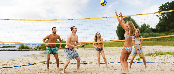 beach volley center parcs