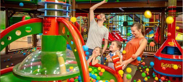 aire de jeux intérieur pour enfants center parcs