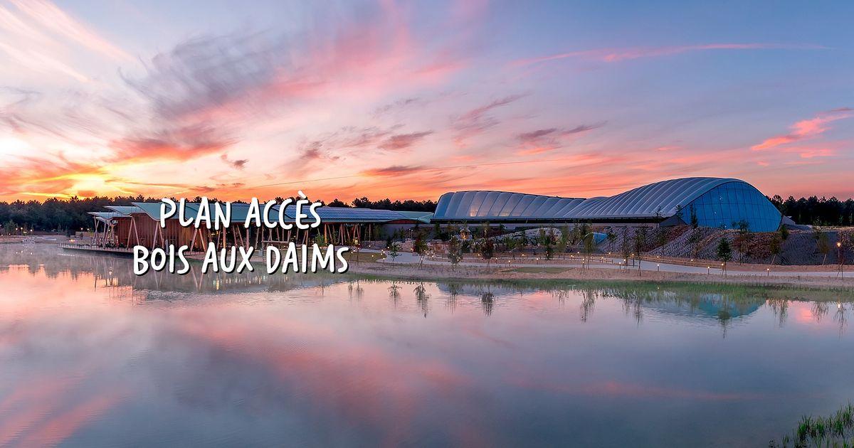 Plan et acc u00e8s au Domaine Le Bois aux Daims # Plan Domaine Bois Aux Daims