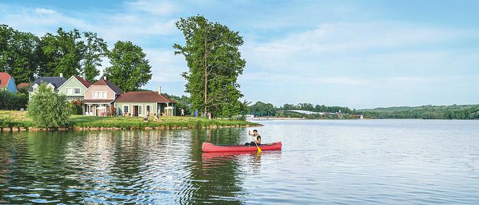 canoe lac d'ailette