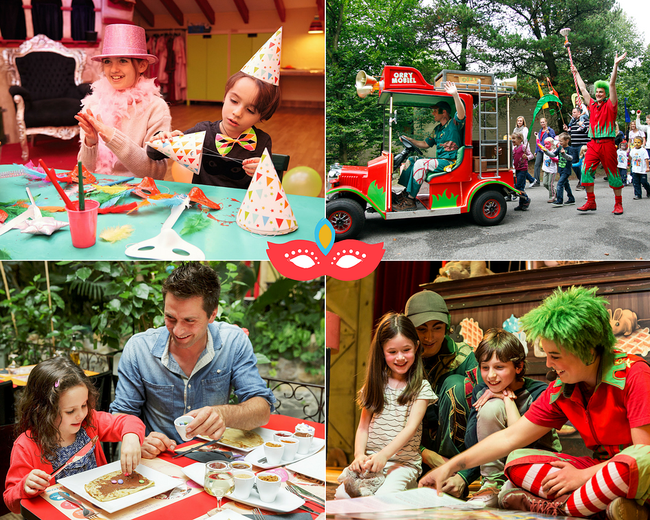 activités carnaval center parcs