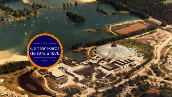 L'histoire de Center Parcs : de 1977 à 1986