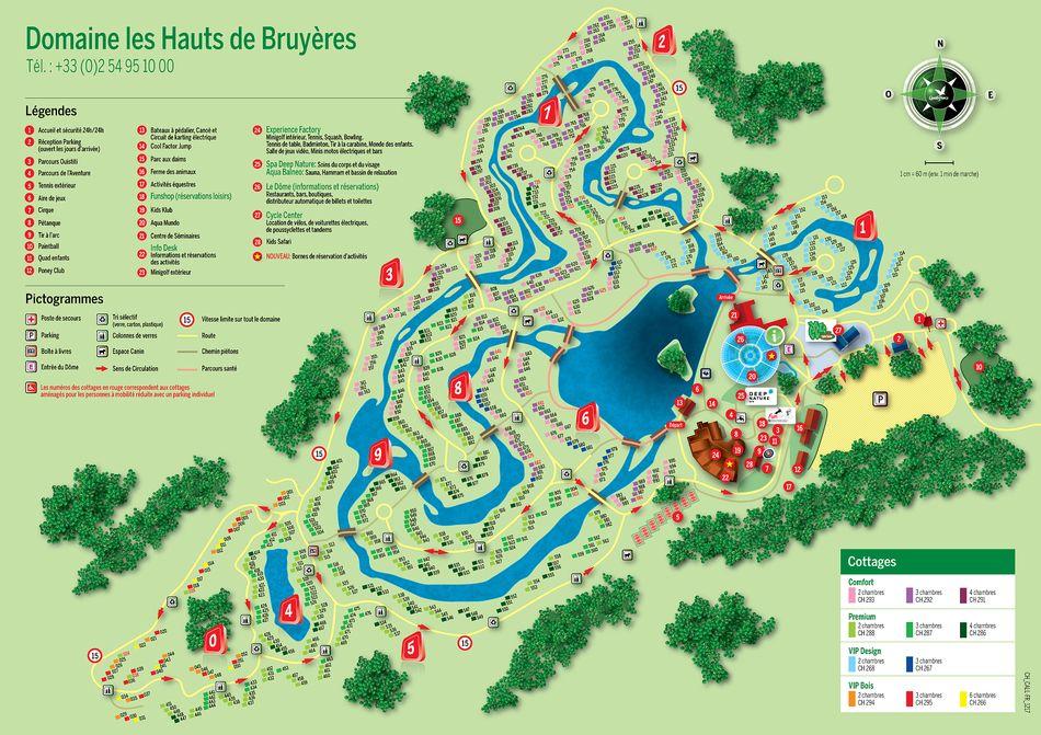 center parcs hauts de bruyères