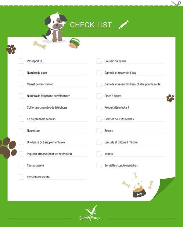 check-list-chiens-a-center-parcs