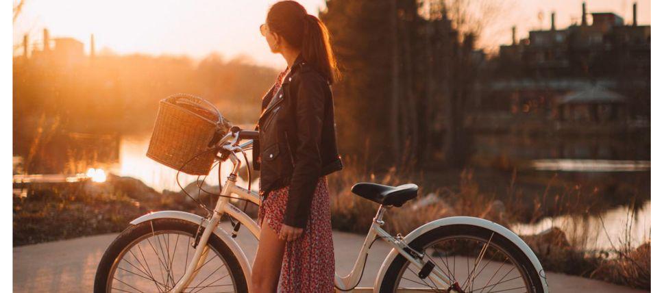 vélo balade été