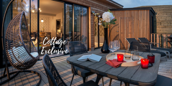 Découvrez les Cottages Exclusive du Domaine Les Trois Forêts