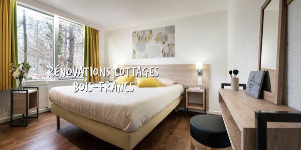 Domaine Les Bois-Francs : découvrez le nouveau design de nos cottages Comfort et Premium