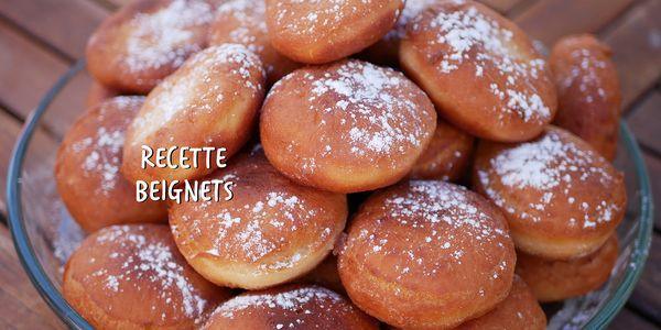 Recette Beignets Mardi Gras