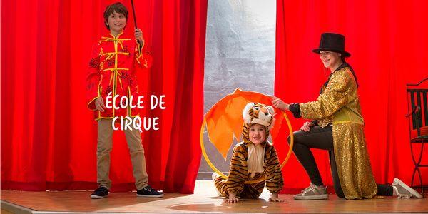 Ecole de Cirque au Domaine Les Hauts de Bruyères