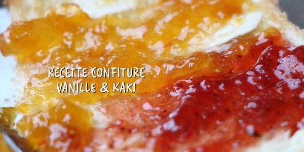 Recette Confiture à la vanille et au kaki