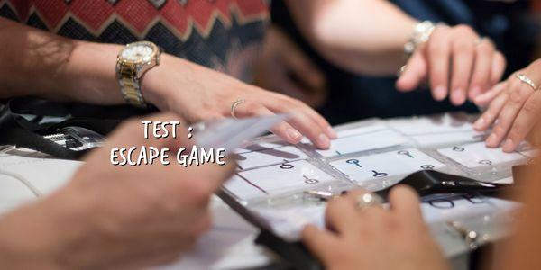Test : Escape Game
