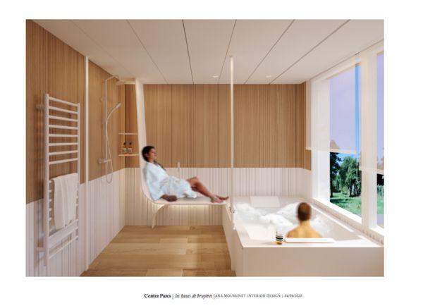Salle de bain bien-être Cottage Exclusive