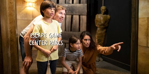 Escape Game à Center Parcs
