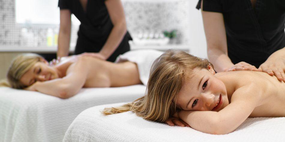 Massage Tandem Parent Enfants