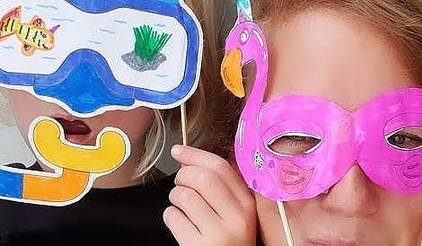 Le kit pour fabriquer ses masques de vacances