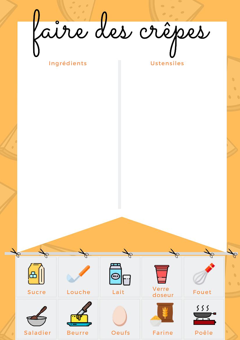 Suivez la recette traditionnelle des crêpes