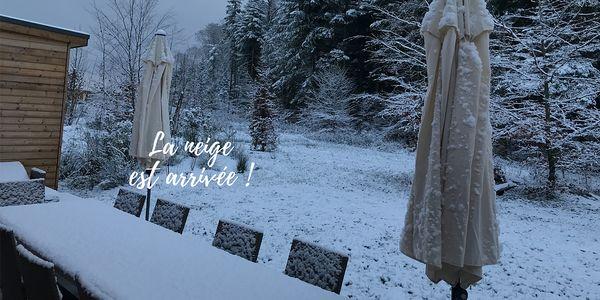 La neige est arrivée au Center Parcs des Trois Forêts !