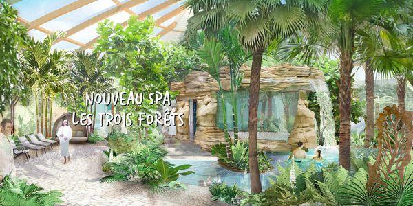 Trois Forêts : nouveau spa à l'automne 2018