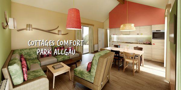Les cottages Comfort à Park Allgäu