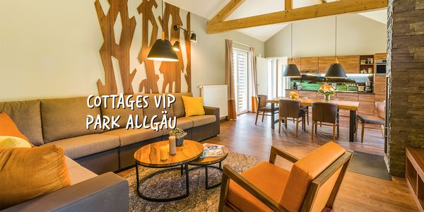 Les cottages VIP à Park Allgäu