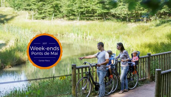 Vos week-ends des ponts de Mai à Center Parcs !