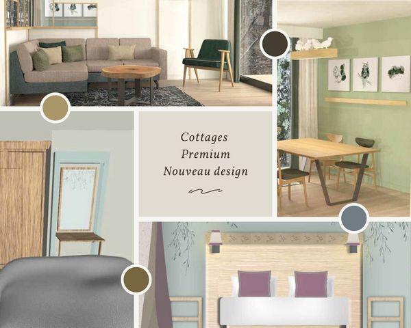 Cottages Premium Nouveau Design Center Parcs