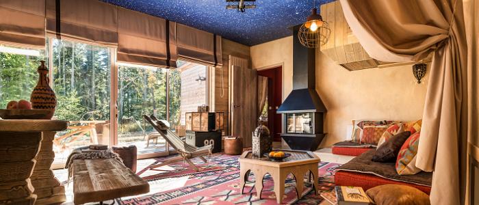 Cottage Aventure dans le Domaine Les Trois Forêts