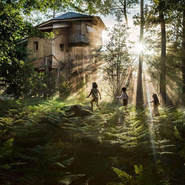 Maison dans les Arbres Center Parcs Bois aux Daims