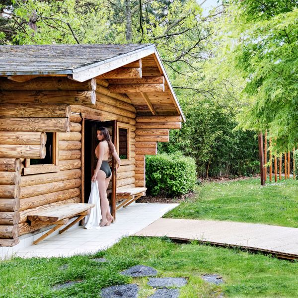 Sauna Center Parcs Hauts de Bruyères