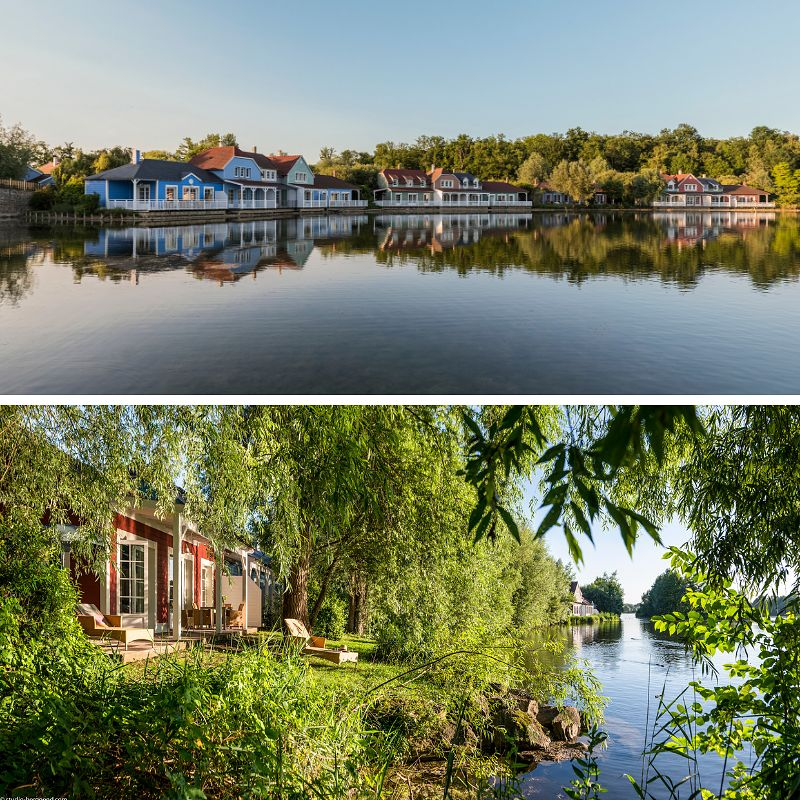 Cottages Center Parcs Lac d'Ailette